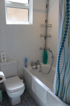 Full bathroom plus second separate toilet.